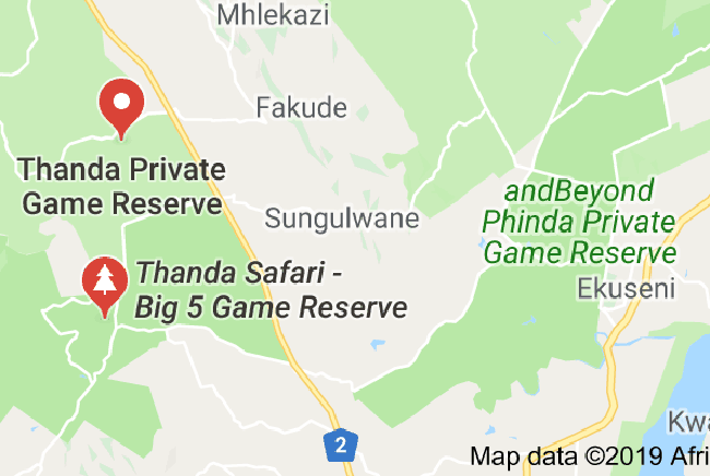 Carte de Réserve privée de Thanda